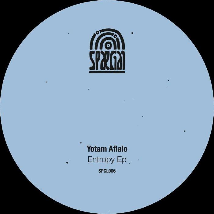 """( SPCL 006 ) Yotam AFLALO - Entropy EP (12"""") Spaecial"""