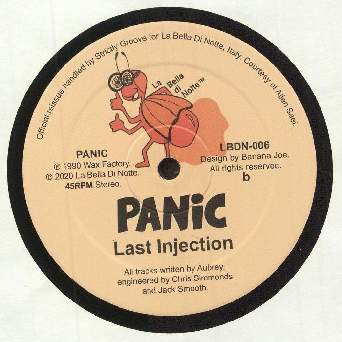 "( LBDN 006 ) PANIC - Dialated Rhythms (reissue) (12"") La Bella Di Notte Italy"