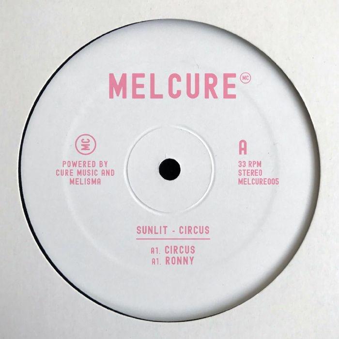 "( MELCURE 005 ) SUNLIT - Circus EP (12"") Melcure Spain"