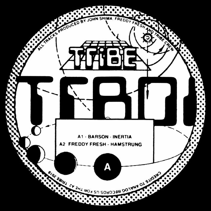 "( TRB 01 ) BARSON / FREDDY FRESH / ARTES / JOHN SHIMA - TRB 01 (12"") Tribe Spain"