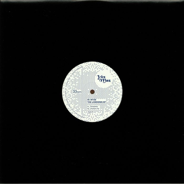 """( YOZMAZ 004 ) HI RYZE - The Lowdown EP (12"""") Yozmaz"""