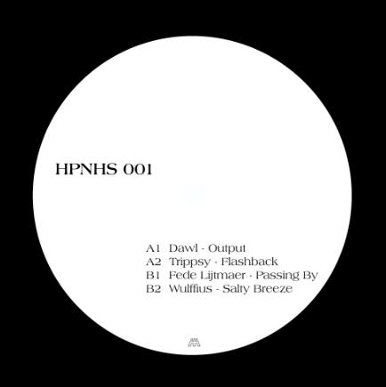 """( HPNHS 001 ) DAWL / TRIPPSY / FEDE LIJTMAER / WULFFIUS - HPNHS 001 (12"""") Hypnohouse Ukraine"""