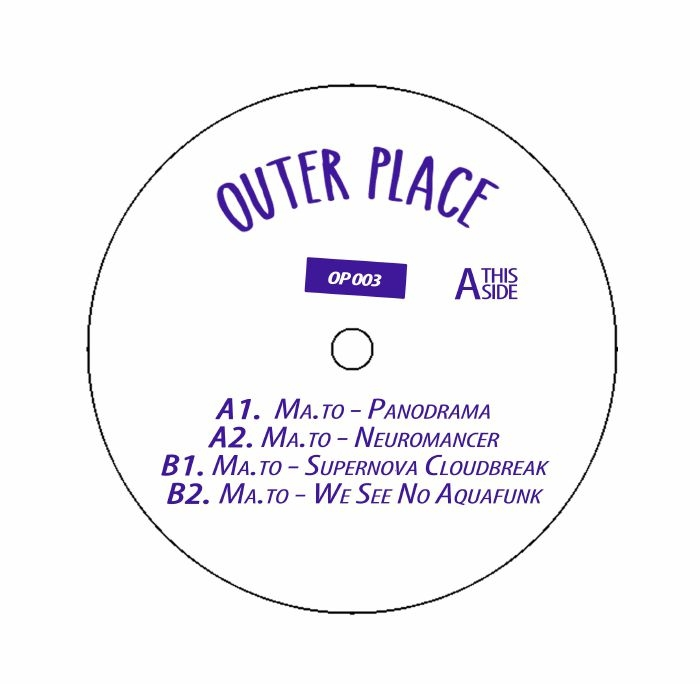 "( OP 003 ) MA TO - Therapy Sessions (12"") Outer Place Germany"