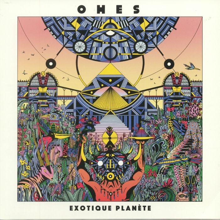 """(  DYNA 001 ) OHES - Exotique Planete (12"""") Dynamiterie France"""