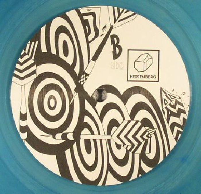 """( HSBRGV 006 ) REYAM / ADJUSTMENT BUREAU / JAMAHR / RICIAR GHIR -  HSBRGV 006 (180 gram blue transparent vinyl 12"""") Heisenberg Holland"""