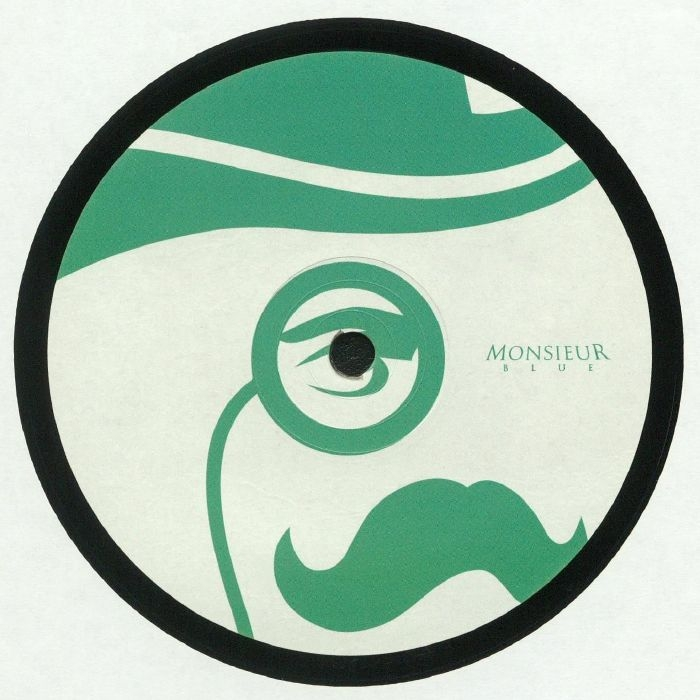 "( MOBLU 003 ) MONSIEUR BLUE - Monsieur Blue 003 (140 gram vinyl 12"") - Monsieur Blue"