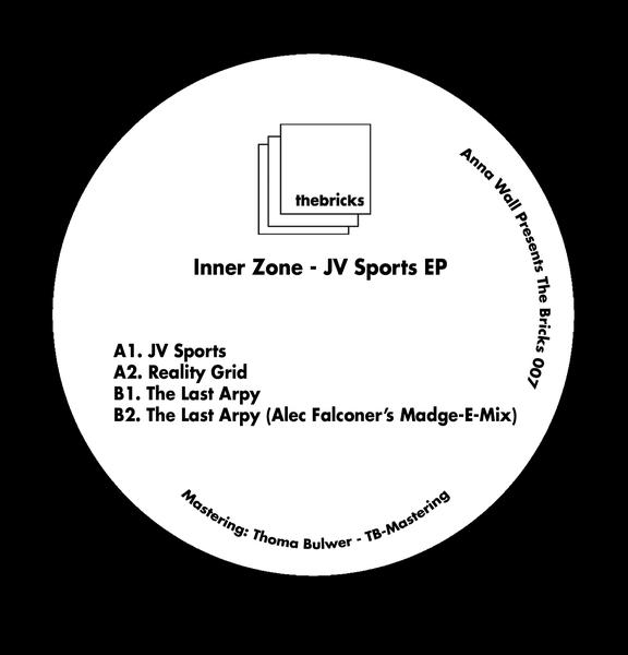 "( THEBRICKS 007 ) INNER ZONE - JV Sports EP (LTD vinyl 12"") The Bricks"