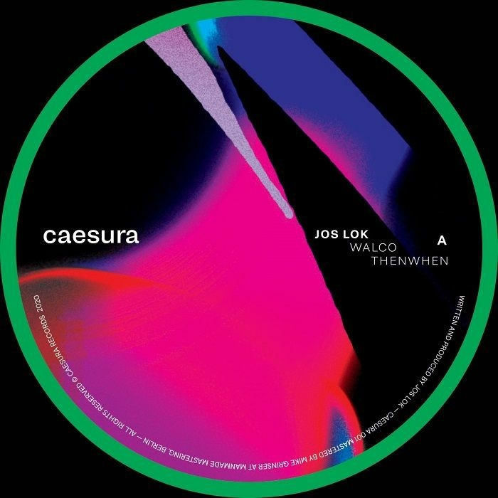"( CAESURA 001 ) JOS LOK -ThenWhen EP (12"") Caesura"