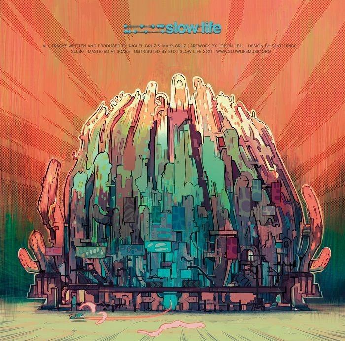 "( SL 030 ) PRIMARY PERCEPTION -  Era of Technology (2x12"") Slow Life Berlin"
