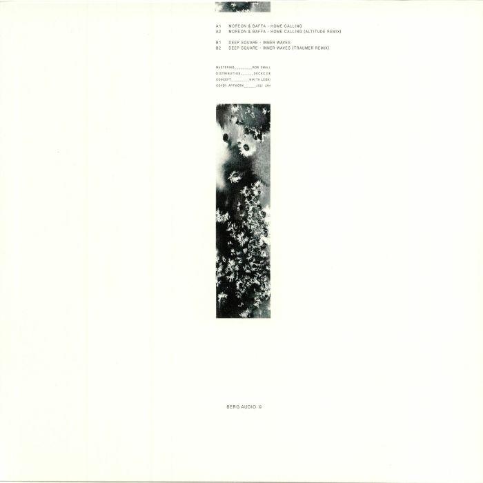 "( BERGAMON 07 ) MOREON & BAFFA / DEEP SQUARE - Variant (12"") Berg Audio France"