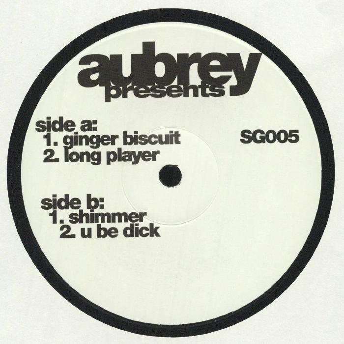 "( SG 05 RP20 ) AUBREY - Ginger Biscuit (reissue) (140 gram vinyl 12"") Solid Groove"
