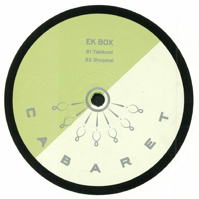 """( CABARET 017 ) EK BOX - Mitsuboshi EP (12"""") Cabaret Japan"""