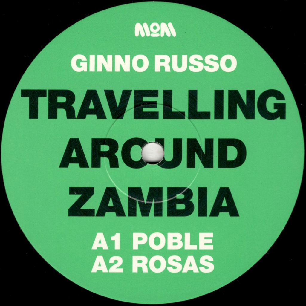 """( MOM 016 ) GINNO RUSSO - Travelling Around Zambia EP (12"""") Modern Obscure"""