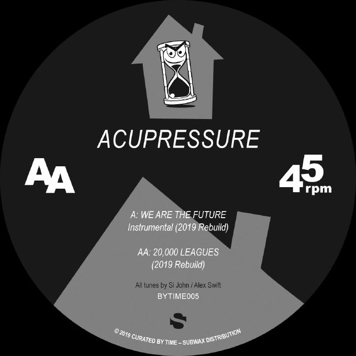 """( BYTIME 005 )  Acupressure - We Are The Future (12"""") Curated By Time Spain"""