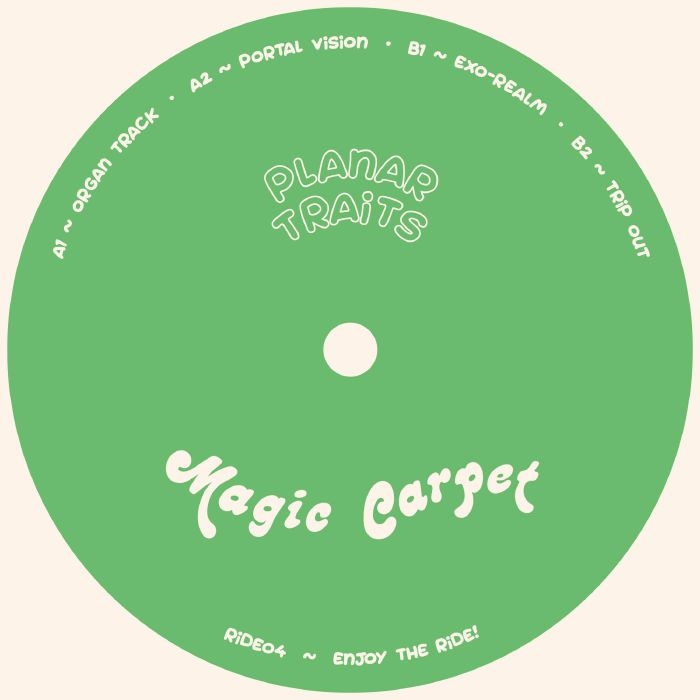 "( RIDE 04 )  PLANAR TRAITS -  Portal Vision (12"") Magic Carpet Portugal"