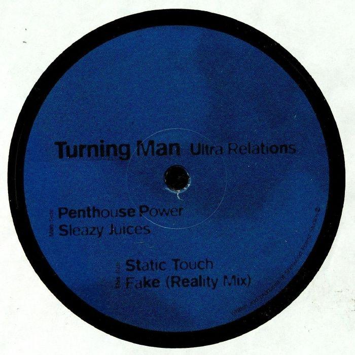 """( TM 002 ) TURNING MAN - Ultra Relations (12"""") Turning Man"""