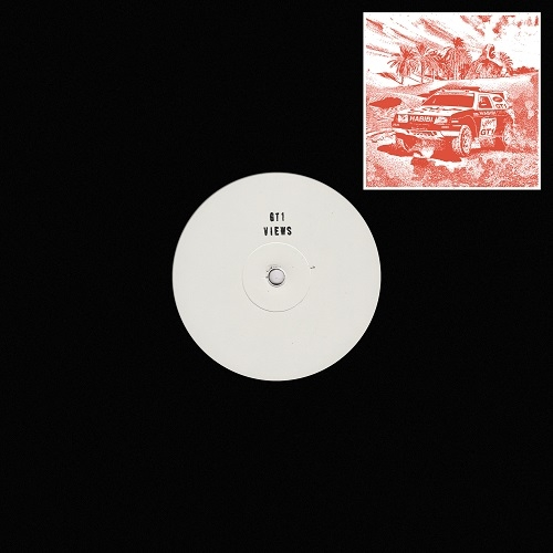 "( GT1 ) VIEWS - 2020 habibi Ep (12"") Garage Hermétique"
