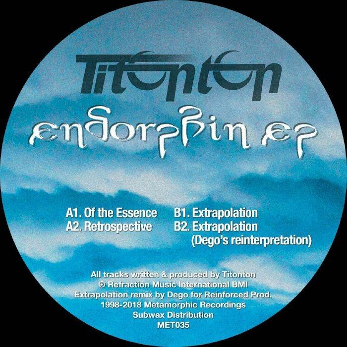 """( MET 035 ) TITONTON - Endorphin (reissue) (12"""") Metamorphic US"""
