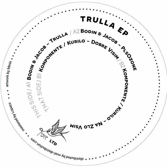 "( TVIRLTD 004 ) BODIN & JACOB / KOMPONENTE / KURILO -Trulla EP (12"") TVIR"
