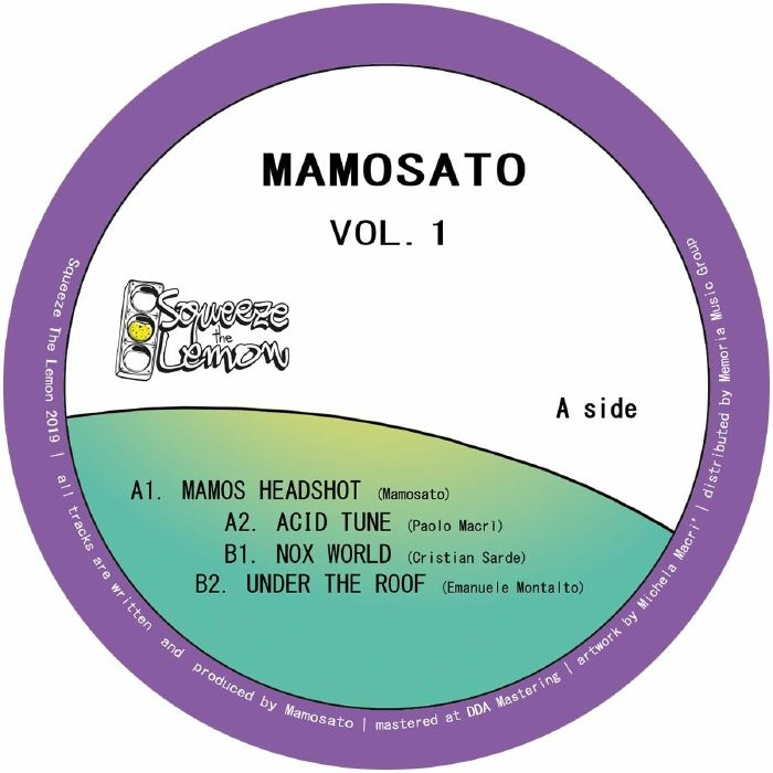 "( STL 002 )  MAMOSATO - Mamosato Vol 1 (12"") Squeeze The Lemon Italy"