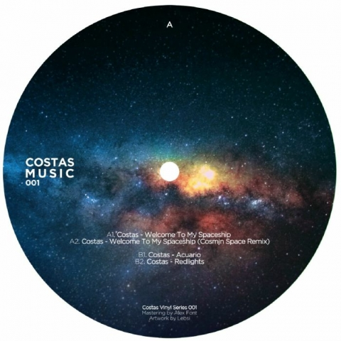 "( COSTAS 001 ) COSTAS - Welcome To My Spaceship (12"") Costas Music Germany"