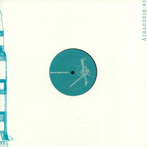 """(  RD 003 ) HUMAN MESH DANCE -Hyaline (Extended Edition) (12"""" + insert) Re:discovery Germany"""