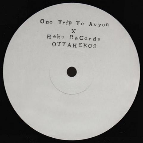 "( OTTAHEKO 2 ) GIAMMARCO ORSINI  & PANCRATIO Presents One Trip To Avyon II (Handstamped Promo 12"") Heko Records"