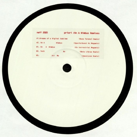 "( NAFF 009 ) PRIORI - On A Nimbus Remixes (12"") Naff Canada"