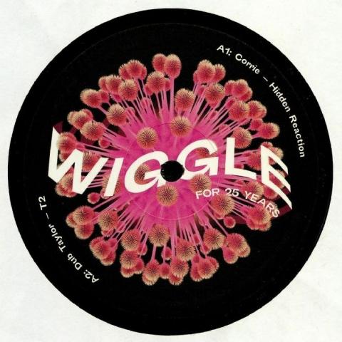 "( WIGV 085 ) CORRIE / DUB TAYLOR / MIHAI POPOVICIU / DANIEL POLI - Wiggle For 25 Years (12"") Wiggle"
