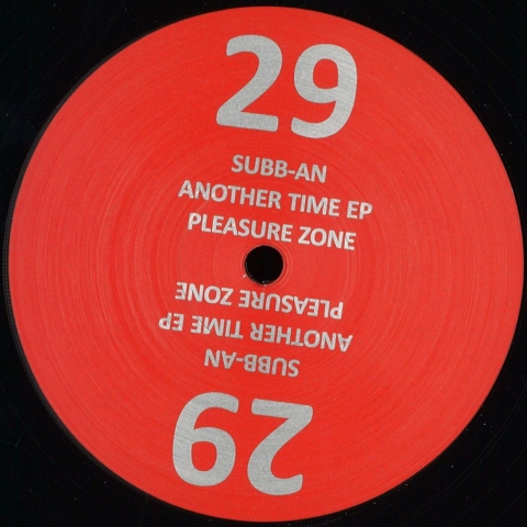 "(  PLZ 029 ) SUBB AN - Another Time EP (12"") Pleasure Zone Germany"