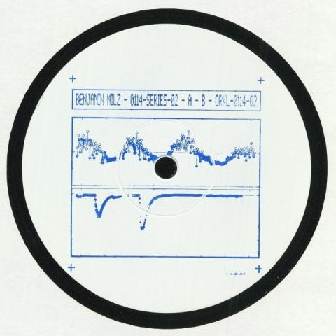 """( ORKL 011402 ) Benjamin MILZ - Orkl 0114 Series 02 (hand-stamped 12"""")  Die Orakel"""
