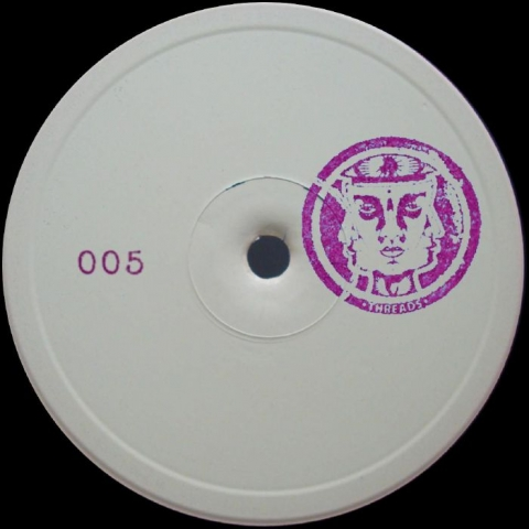 """( THREADS 005 ) DORMALD / JOS / GRAPEVIBE / NND - THREADS 005 (hand-stamped 12"""") Threads Italy"""