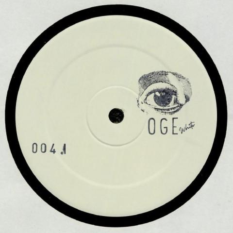 "( OGEWHITE 004 ) Philipp BOSS -  OGEWHITE 004 (hand-stamped 12"") OGE White"