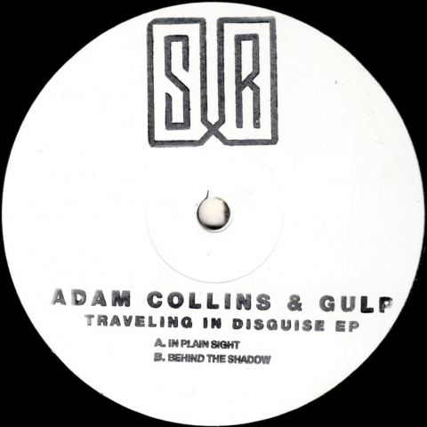 "( SURLTD 01 ) ADAM COLLINS & GULP – Traveling in Disguise EP  (12"") Sur"