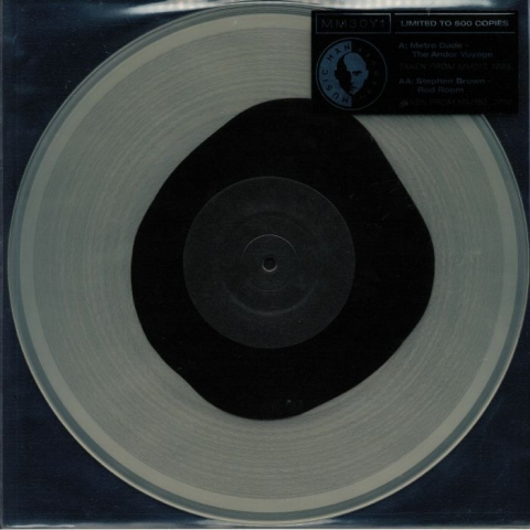 """(  MM 30Y ) METRO DADE / STEPHEN BROWN - The Andor Voyage (limited heavyweight coloured vinyl 12"""") Music Man Special Belgium"""