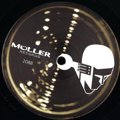 "(  MULLER 2088 ) BEROSHIMA -  Encounter EP (coloured vinyl 12"")  Muller Germany"