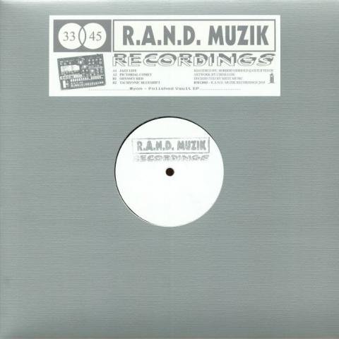 "( RM 12003 ) MYON - Polished Vault EP (hand-stamped 12"") RAND Muzik Germany"
