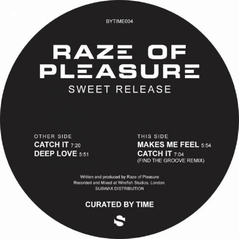 "( BYTIME 004 ) RAZE OF PLEASURE - Sweet Release (12"") Curated By Time Spain"
