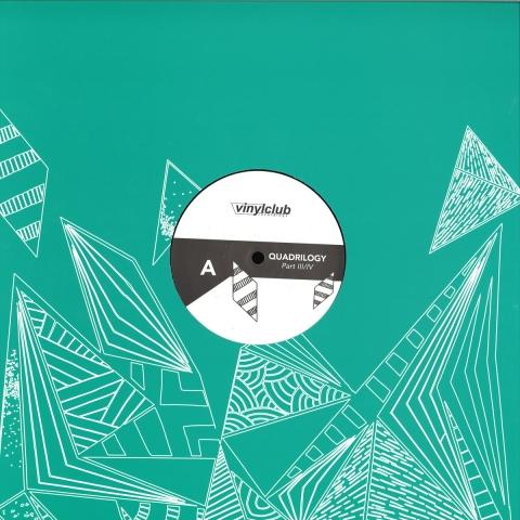 "( VCLUB 025.3 ) DEWALTA / TOPPER / AUDIO WERNER - Quadrilogy Part III/IV (12"")  - Vinyl Club Spain"