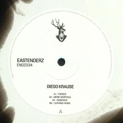 """( ENDZ 034 ) Diego KRAUSE - ENDZ 034 (coloured vinyl 12"""") Eastenderz"""