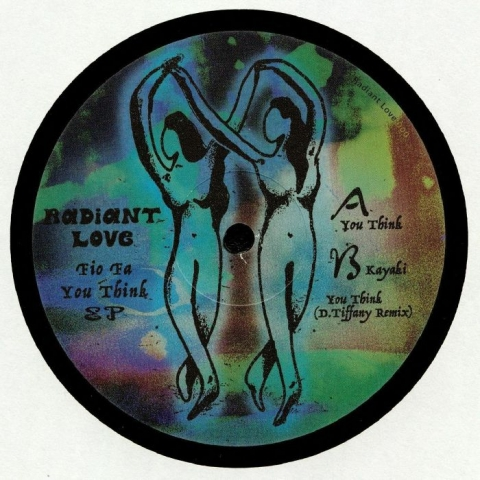 "( RADIANTLOVE 000 ) FIO FA - You Think (heavyweight vinyl 12"") Radiant Love Germany"