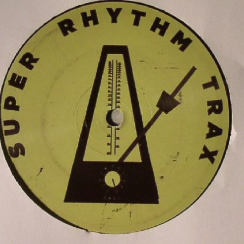 "( SRTX 008 ) Luca LOZANO - Outer Space EP (12"") Super Rhythm Trax"