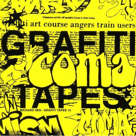 """( GT 12 ) RICHARD SEN - Grafiti Tapes 12 ( 12"""" vinyl ) Grafiti Tapes"""