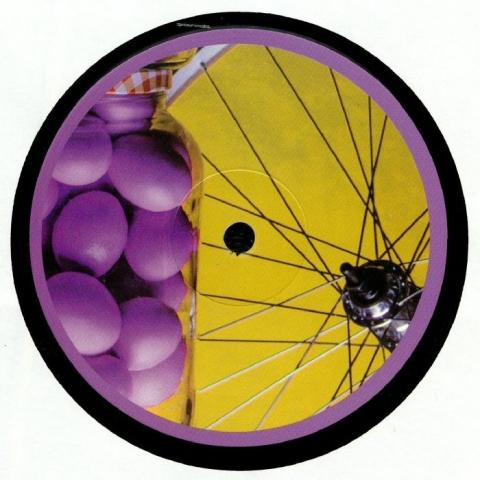 """( HB 012 ) SAKRO - Millions Of Stars EP (140 gram vinyl 12"""") Half Baked"""