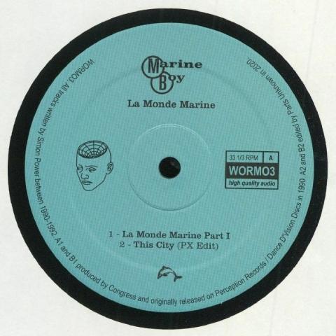 "(  WORMO 3 ) MARINE BOY - La Monde Marine (remastered) (12"") Wormhole Wisdom"