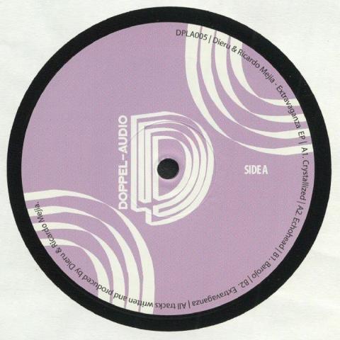 """( DPLA 005 ) DIERU / RICARDO MEJIA - Extravaganza EP (12"""") Doppel-Audio"""