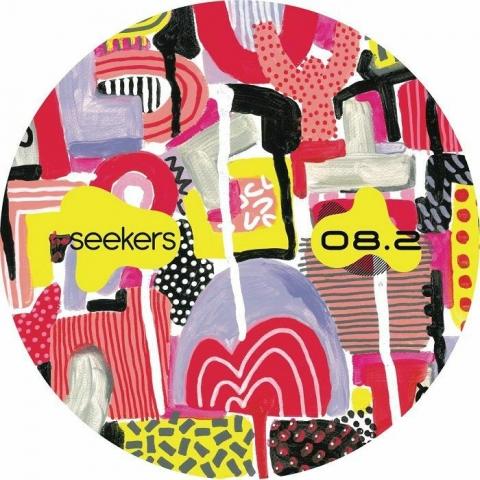 """( SKR 008.2 ) SEEKERS - Space (Spirit) (red marbled vinyl 12"""") Seekers"""