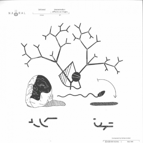 "( NAU 008 ) ZEFZEED - Waterlemon As Viagra (12"") Naural Romania"