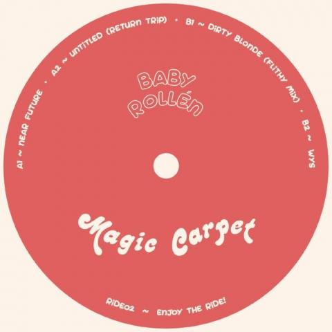 """( RIDE 02 ) BABY ROLLEN - Near Future EP (12"""") Magic Carpet Portugal"""