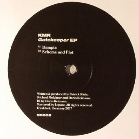 """( SR 008 ) KMR -  Gatekeeper EP -  Format: 12"""" - Sensual Germany"""
